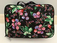 Vera Bradley Winter Berry Large Blush & Brush Makeup Case Cosmetic Bag With Tags
