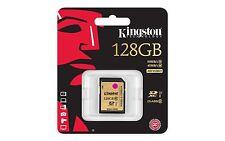 Tarjeta Memoria SD 128 GB 90MB/s 600x CLASE 10 Kingston Pro SDHC 90 Class UHS-I