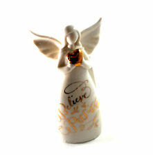 Believe All is Possible Porcelain Angel Bell by Midwest-CBK