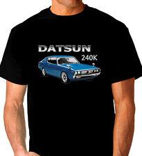 DATSUN  240K  GT  COUPE QUALITY  BLACK  TSHIRT ( 7 CAR COLOURS)  BIG FIT