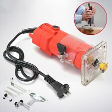 220V 300W Trim Router Set Edge Woodworking Wood Clean Cuts Power Cutting Tool