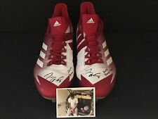 Tim Anderson Chicago White Sox Signed 2017 Game Used Cleats Adidas Sunday Red A