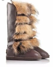 winter boots Arctic Bandid Eva moovboot tall lether + best quality sheepskin