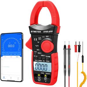 BTMETER TRMS ZangenMultimeter AC&DC Zangenmessgerät Stromzange Zangenamperemeter