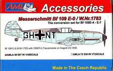 AML Models 1/48 MESSERSCHMITT Bf-109E-0 W.Nr. 1783 Resin & PE Conversion Kit