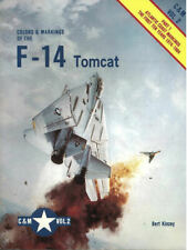 COLORS & MARKINGS 2 GRUMMAN F-14 TOMCAT VF USN ATLANTIC SQN 1974-1984 NAS OCEANA