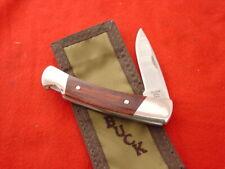 "Buck Made in USA 501 SQUIRE 3-7/8"" Lockback Lock Blade Knife & Sheath MINT"