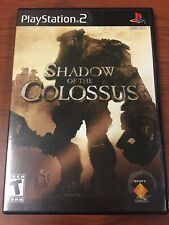 Shadow Of The Colossus Playstation 2 PS2 Black Label Game Complete