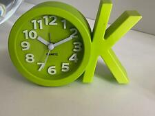 "Green ""OK"" Alarm Clock 0003041"