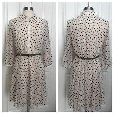 Ted Baker Polka Dot Shirt Dress M