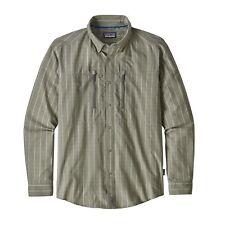 Patagonia Men's Congo Town Pucker Long Sleeve Shirt - Hemd - KIBD Sage - XL
