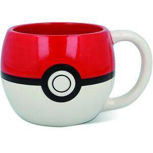 Lizenzierte Pokémon 3D Tasse Pokeball Kaffeetasse Mug 320ml