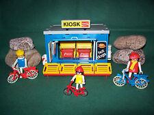 Playmobil ***Rarität*** Kiosk 3418-A/1984 IV ohne Fahrradständer, ohne OVP!