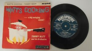 Tommy Watt, Watts Cooking.With Tubby Hayes.Rare 1960 Jazz Ep.GEP 8797. Ex