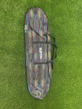 Burton Snowboard Bag 156cm Multi-color Stripes No Rips Or Tears Great Condition