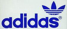 Vintage 70s Blue Adidas Trefoil Logo Iron On Transfer Quaker Licensed!