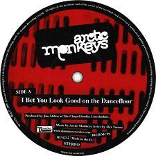 Arctic Monkeys. Record label sticker. I Bet That You Look Good On The Dancefloor