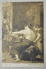 """CPA """" MADRID - Museo del Prado - Las Hilanderas ( VELAZQUEZ )"""