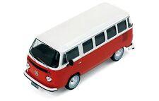 1/43 Ixo Premium x VW T2 / T1 Brasilien 1976 Rosso/bianco Prd344