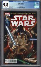 Star Wars #1 CGC 9.8 Alex Ross TRADE Variant RISE SKYWALKER Movie 3/15