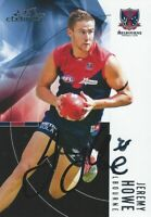 ✺Signed✺ 2012 MELBOURNE DEMONS AFL Card JEREMY HOWE