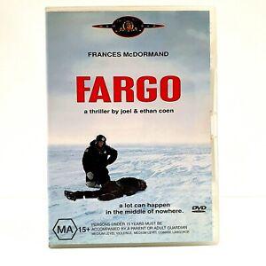 Fargo (DVD, Region 4, 1996)