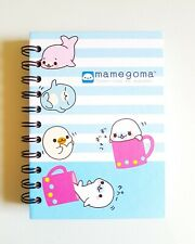 San-x Character MamegomaLittle Seal Notebook Notepad Cover, Japanese Brand NEW