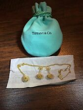 Tiffany & Co. Authentic 18K 750 Twist Knot Set Earrings, Pendant And Necklace