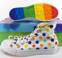 Converse Pride by Miley Cyrus Rainbow Polka Dot Chuck Taylor Sneakers 162252C