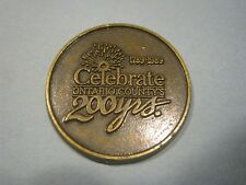 Celebrate Ontario County's 200 Years Jetton, Medal, Coin, 1789-1989