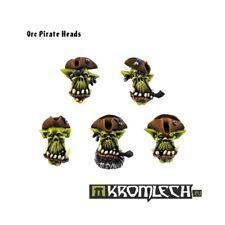 Orc Pirate Heads - Kromlech