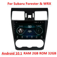 For 2015-18 Subaru Forester 9'' Android 10.1 Car Stereo Radio GPS Navigation 32G