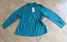 smaragd-Grüne Bluse REINE SEIDE von  BONITA Gr. 48 -Ungetragen-  NP 49,99 €