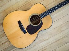 1940 Martin 0-18T Vintage Acoustic Tenor Guitar Pre-War Adirondack Spruce, 0-18