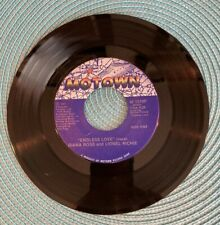 New listing Diana Ross Lionel Richie Endless Love 1981 Record 45 RPM Motown