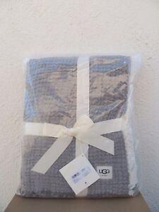 UGG HOME FJORD THROW FRINGE BLANKET  ~ MAKES A GREAT GIFT ~ NWT