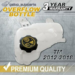 New For Holden Barina TM 2012-2018 4cyl Coolant Overflow Expansion Bottle & Cap