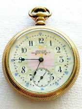 1901 Waltham Pocket Watch 17-Jewel Fancy Dial - Size 16s *RUNNING*