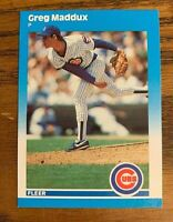 1987 Fleer Update #68 Greg Maddux - Cubs - HOF