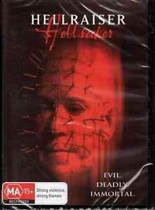 HELLRAISER #6 Hellseeker DVD - Evil, Deadly, Immortal NEW & SEALED Free Post