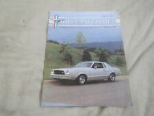 February 1998 Volume 22 No# 2 Ford Mustang Times Original Magazine Issue