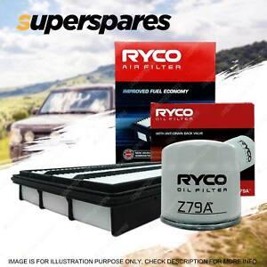 Ryco Oil Air Filter for Mitsubishi Pajero NM NP NS NT NW V6 3.8L Petrol 6G75