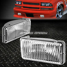 FOR 98-04 CHEVY S10/BLAZER GMT325 CLEAR LENS OE BUMPER DRIVING FOG LIGHT LAMP
