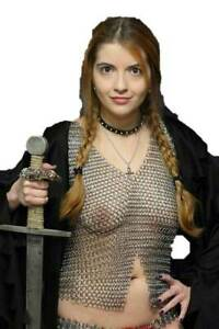 Aluminum Chainmail Halter for Intimates