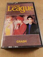 The Human League : Crash : Vintage Tape Cassette Album from 1986
