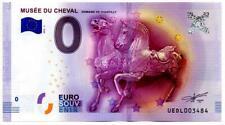 Billet Touristique - 0 Euro - Musée du cheval - Chantilly (2016-2)