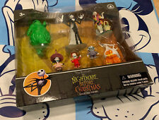 DISNEY PARKS NIGHTMARE BEFORE CHRISTMAS COLLECTIBLE FIGURES BOX SET ~NEW IN HAND