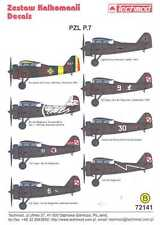 Techmod Decals 1/72 PZL P.7 Polish Fighter