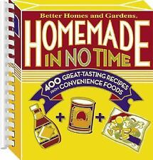 Homemade in No Time (Better Homes & Gardens) Better Homes and Gardens Plastic Co