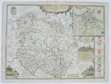 Herefordshire: antique map by John Speed, 1611 (1627 edition)